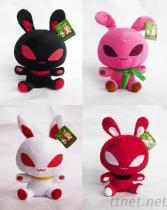 外星兔毛絨玩具公仔玩偶