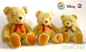 中大尺寸泰迪熊絨毛玩具