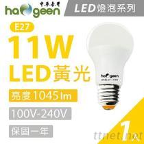 【中华豪井】11W 白光LED灯泡(1045lm) 11瓦