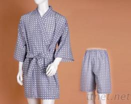 浴衣+短裤