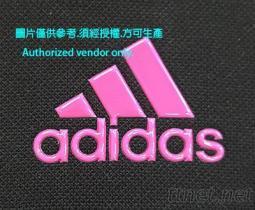 亮面透明/桃粉愛迪達TPU商標