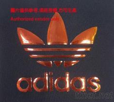 愛迪達炫彩TPU熱轉印商標