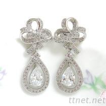 婚礼珠宝耳环