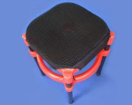 诚都牌, G13, 透气网蜘蛛垫 椅垫片/蜂巢式/透气垫/适用: 板凳 餐椅 四脚椅 旋转椅 工作椅等安装