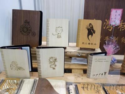 木雕筆記本