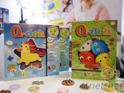 Q-doh有機矽膠黏土