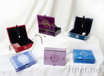 中國風玻璃珠寶盒