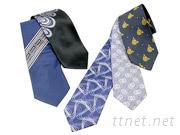 蠶絲織花領帶