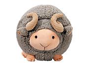 脱身绵羊-绒毛娃娃