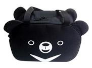月熊雙造型側背袋
