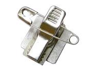 铝片加斜纹铁夹