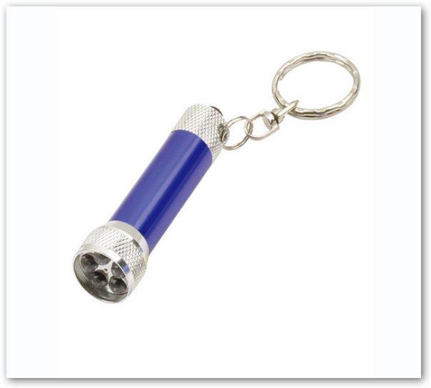 LED五燈手電筒鑰匙圈