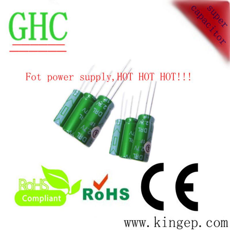 專業生產超級電容2.7v 1f法拉電容