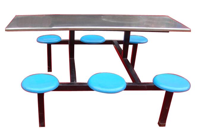 河南連體快餐桌, 連體快餐桌廠家, 分體快餐桌