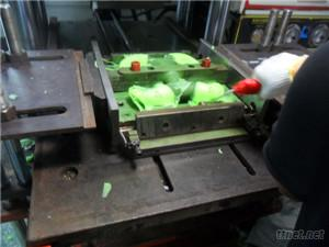 pressing mould with silicone