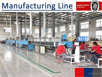 Rubber Profiles Manufacturing Line