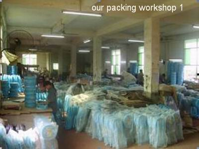 One of our packing workshops