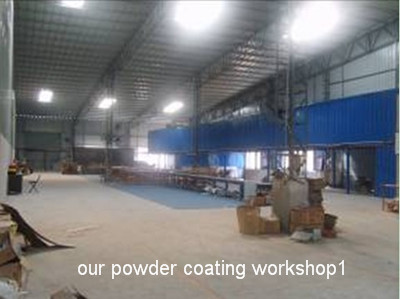 One of our powder coating workshops