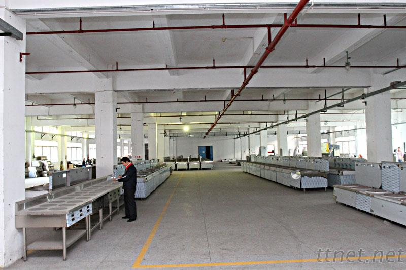 inside of our factory