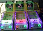 Panda Face - Coin Operated Kids Basketball Arcade Game Lottery Machine Redemption Game Machine