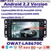 Car DVD GPS for Chevrolet Aveo with Android System 3G Dongle Function and WIFI