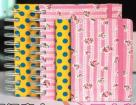 Fabric Or Silk Cover Notebook