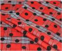 Wholesale Polyester stretch fabric,dot printed fabric for women's t-shirt