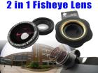Fisheye Lens For Mobile Phone Camera Kit 2 In 1