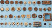 Natural Material Button, Type: Coconut Button