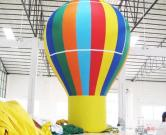 Giant Advertising Ground Balloon Inflatable Model Rainbow Color