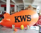 Inflatable Helium Airship Balloon Blimp Large with Lettering