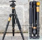 Professional Aluminum Tripod Monopod Telescopic Camcorder Video Stand Fluid Head