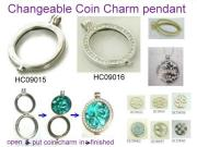 Coin Charm Jewelry