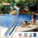Triple Blade Razor, Streamline Handle With Good Quality