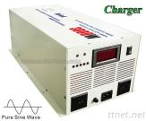 3000W Power Inverter With Charger Pure Sine Wave Watt Inverters Power Supply AC Adapter Solar Inverter