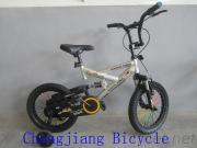 New Model Fashion Children'S Bmx Bike With Suspension And V-Brake
