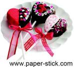 Chocolate Cake Pop Stick, Cake Pop Stick, Treat Pop Stick