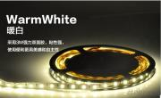 5050 Warm White LED Strips 60L/M Ip65