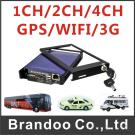 4 Channel Mobile DVR, 4CH D1 Resolution, 3G/GPS/WIFI Function, 128GB Sd Memory