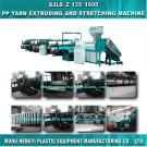 Pp Yarn Extruding And Stretching Machine