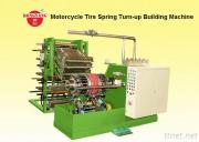 Motorcycle Tire Spring Turn-Up Building Machine