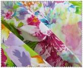 100% Cotton Twill Printed Flower Canvas Fabric
