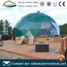Guangzhou winter tent, round dome tent, party tents steel construction dome house for sale