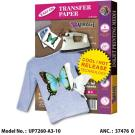 Light Fabric Transfer Paper A3 10 Sheets