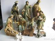 Polyresin Nativity Set