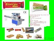 Automatic Cereal Bar Packing Machine Protein Bar Packaging Machine