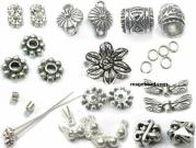 925 Silver Jewelry Finding (Crimp Tube)