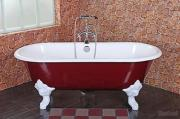 Classical Clawfoot Freestanding Cast Iron Bathtubs SW-1001