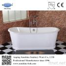 Freestanding Enamel Cast Iron Bathtub With Skirt