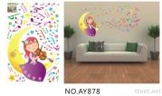 OEM  Removeble Cartoon  Wall Decals Stickers Baby Room Wall Decals